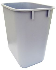 Plastic Soft Sided Wastebasket (12 litre)