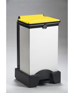 All Plastic Fire Retardant Sackholder with Choice of Lid Colour (65 litre)