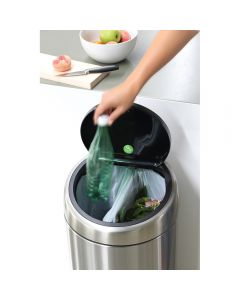 Brabantia Recycle 2 x 20 litre touch bin