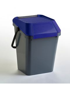 45 litre stackable recycling bin, plastic