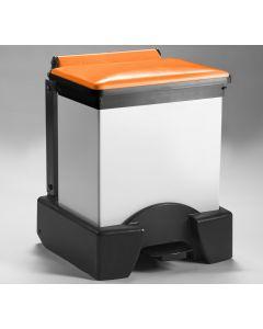 All Plastic Fire Retardant Sackholder with Choice of Lid Colour (30 litre)