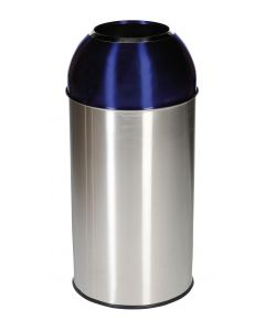 40 LITRE DOME BIN ELECTRIC FINISH
