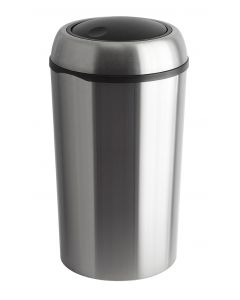 Round Stainless Steel Swing Bin (75 litre)
