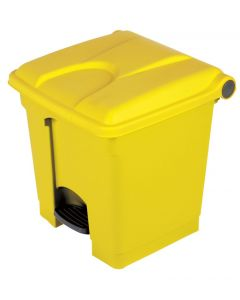 30 litre plastic pedal bin