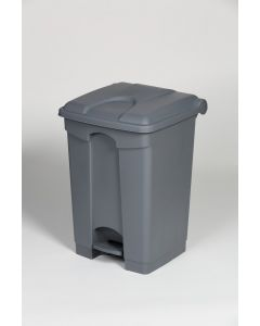 45 litre plastic pedal bin