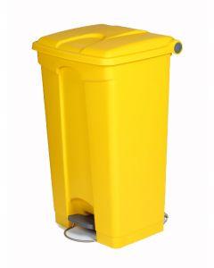 90 litre plastic pedal bin
