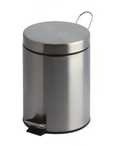 12 Litre Pedal Bin in Stainless Steel