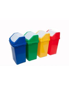 Flip Bins with Recycle Stickers (50 litre)