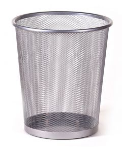 18 litre Circular Steel Waste basket